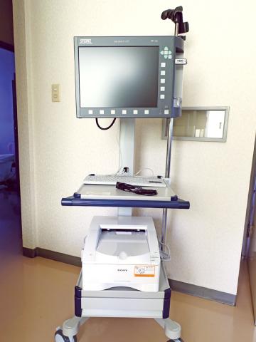 藤沢市の北見泌尿器科皮フ科クリニック 最新内視鏡システム